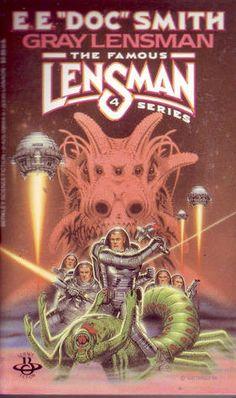 "DAVID BURROUGHS MATTINGLY - art for Gray Lensman by E.E. ""Doc"" Smith - 1982 Berkley paperback"