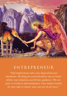 Oracle Card Entrepreneur | Doreen Virtue | official Angel Therapy Web site