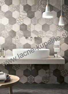 DLAŽBY interiér, exteriér | DLAŽBA s imitáciou kameňa | MARAZZI Clays 21x18,2 šesťuhoľníková dlažba -15% | Lacne kupelne ADO-PLAST, lacne obklady a dlazby, RAKO, MARAZZI