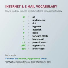 internet vocab
