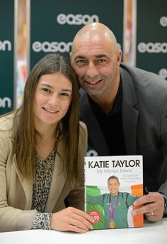 Katie Taylor signing her new book in Eason O'Connell Street