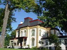 Second Empire Style Victorian home built in 1919, located on Washington Ave. in Saginaw, Michigan