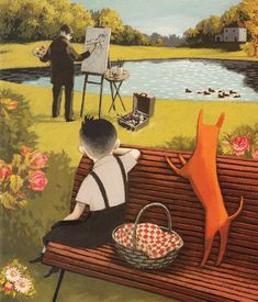 Mr. Gauguin's heart. Marie-Danielle Croteau; Susan Ouriou; Isabelle Arsenault Publisher: Toronto : Tundra Books, 2007.