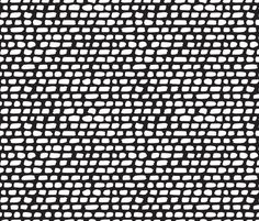Black and white abstract stripes and strokes organic trendy gender neutral geometric grunge brush print fabric by littlesmilemakers on Spoonflower - custom fabric