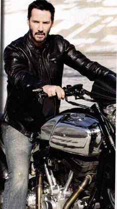 Keanu Reeves at Arch Motorcycle promo