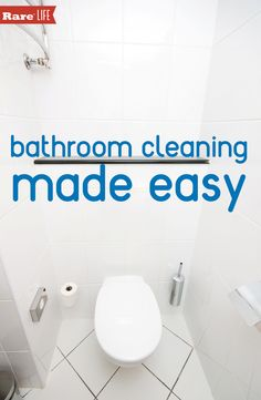 Household tips that will make life easier on pinterest for 9 bathroom cleaning problems solved