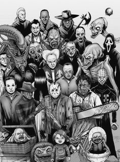 All the scary guys