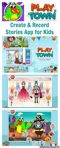 PlayTown, My Story Maker App