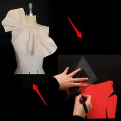Draping Techniques, Techniques Couture, Sewing Techniques, Pattern Draping, Bodice Pattern, Fashion Sewing, Diy Fashion, Fashion Outfits, Clothing Patterns