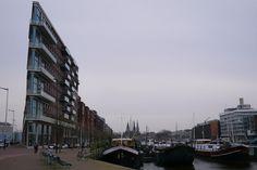 Interesting building in Amsterdam