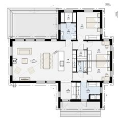 New Builds, My Dream Home, Planer, Beach House, House Plans, Floor Plans, Layout, Flooring, How To Plan
