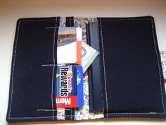 Keep your travel stuff organized! Simple Blue Passport Wallet Heart Flowers by MissKellyMullen, $12.00