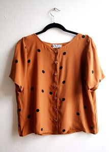 DUSEN DUSEN — DOTS BUTTON UP TOP ($100-200) - Svpply