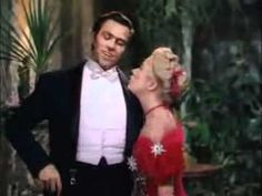"Howard Keel & Betty Hutton in the film version of Irving Berlin's 1945 Broadway hit ""Annie Get Your Gun."""