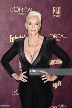 Brigitte Nielsen attends the Entertainment Weekly Pre-Emmy Party 2018 at Sunset Tower Hotel on September 2018 in West Hollywood, California. Get premium, high resolution news photos at Getty Images Brigitte Nielsen, Entertainment Weekly, West Hollywood, Still Image, Loreal, The Outsiders, Entertaining, Actresses, Movie Posters