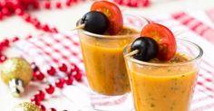 Recette de Gaspacho de carottes au cumin en verrines. Facile et rapide à réaliser, goûteuse et diététique. Ingrédients, préparation et recettes associées.