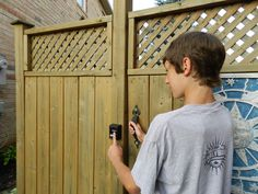 YARDLOCK Keyless Gatelock ** (paid link) Click image to review more details.