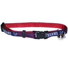 Houston Texans Breakaway Cat Collar NFL  PetsFirst Breakaway Cat Collars 268e1a561