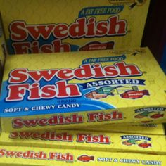 Swedish fish candies