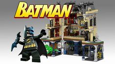 """LEGO already has some really cool DC Comics sets, but we can never have too many. This """"Assault on Wayne Manor"""" design by LEGO Cuusoo contributor DarthKy Batman Lego Sets, Wayne Manor, Project Red, Lego Jurassic, Batman Beyond, Lego Dc, Lego Design, Batcave, Legoland"""