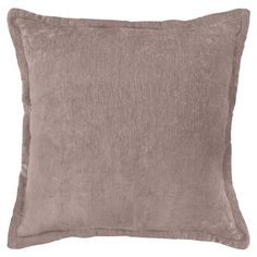 Better Homes & Gardens Chenille Pillow, 22 inch x 22 inch, Taupe/Beige Decorative Items, Decorative Throw Pillows, Apartment Couch, Taupe, Beige, Classic Chic, Better Homes And Gardens, Autumn Home, Walmart Shopping