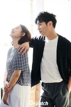 Kim Ji Won and Jin Goo from the drama Descendant of the Sun