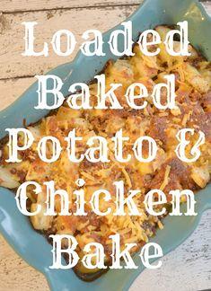 Loaded Baked Potato,