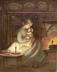 Rare Tasha Tudor Vintage Irene Dash Christmas Card beautiful wont be rare if we all pass it on so PASS IT ON!