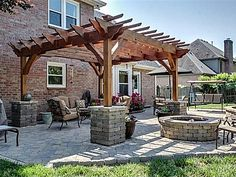 Nice set up for back patio