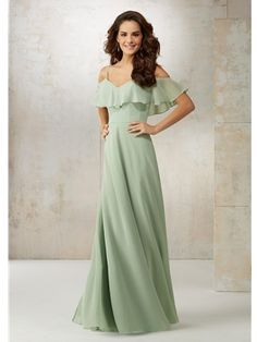 Save money by buying your morilee bridesmaid dresses online. OffWhite offers the entire Mori Lee bridesmaid dress collection at unbelievable prices and super fast shipping. Mori Lee Bridesmaid Dresses, Bridal Dresses, Mint Green Bridesmaid Dresses, Off Shoulder Bridesmaid Dress, Wedding Bridesmaids, Perfect Wedding Dress, The Dress, Madeline Gardner, Spaghetti Straps