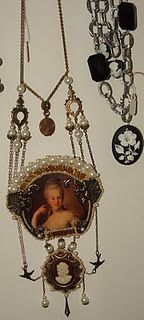 Victorian style jewelry I made.