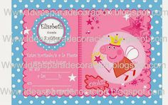 Kit imprimible Peppa Pig rosa y azul
