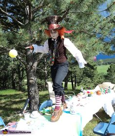 The Mad Hatter - Halloween Costume Contest via @costumeworks