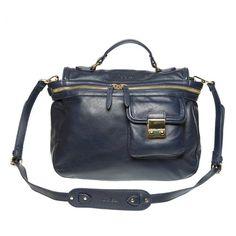 Handbag KATE LEE - SAC À MAIN TILENE en cuir bleu nuit.En vente à la Boutique Le133. Adresse: 133 rue d' antibes. CANNES. France. Tel: 04 93 38 54 22 designerbags katelee