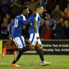 Smiles all round as Tavernier bags a 5th goal to seal a hammering against Airdree.