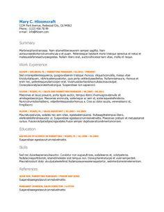 leading edge - Buy Resume Template