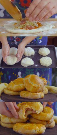 paozinho de pizza #pãozinho #pãozinhopizza#comida #culinaria #gastromina #receita #receitas #receitafacil #chef #receitasfaceis #receitasrapidas