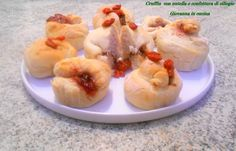 Cruffin con nutella e confettura di ciliegie