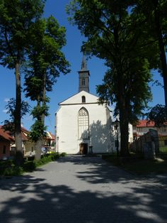 Bardejov - Slovakia.THE FRANCISCANS MONASTERY AND CHURCH OF ST. JOHN THE BAPTIST