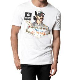 Camiseta | EUROVEGAS - CASINO ALWAYS WIN  BIENVENIDO A LA REPUBLICA INDEPENDIENTE DE MI CASINO, DONDE LA CASA SIEMPRE GANA...