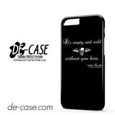 Avenged Sevenfold Quotes DEAL-1190 Apple Phonecase Cover For Iphone 6 / 6S