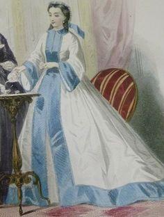 Vintage Gowns, Vintage Lingerie, Vintage Ladies, Vintage Outfits, Vintage Fashion, Medieval Clothing, Antique Clothing, Historical Clothing, Mrs Claus Dress