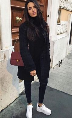winter business outfits to be the fashionable woman in your office 21 ~ my. winter business outfits to be the. Cute Winter Outfits, Winter Fashion Outfits, Look Fashion, Autumn Winter Fashion, Fall Outfits, Fashion Fashion, Fashion Black, Fashion Ideas, Vintage Fashion