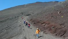 Climbing Mount Fuji - a lot of specific info - costs, buses to get there, trail elevations, etc.