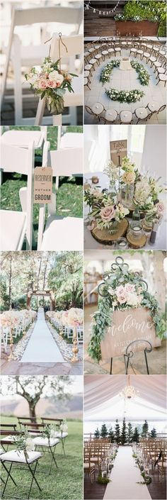 Victoria Jones saved to Centerpiece ideasCountry Weddings » 25 Rustic Outdoor Wedding Ceremony Decorations Ideas » ❤️ See more: http://www.weddinginclude.com/2017/06/rustic-outdoor-wedding-ceremony-decorations-ideas/ #diywedding #weddings #weddingideas