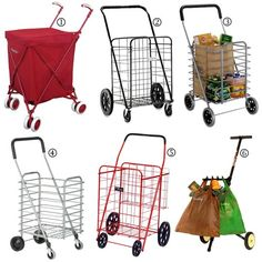 Easy Does It: Folding Shopping Carts