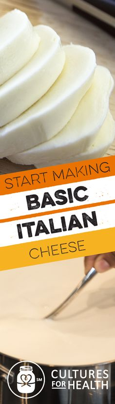 Create a tasty DIY snack, make an unforgettable dessert, or upgrade your family's lasagna recipe with this Basic Italian Cheese Making Kit. This kit contains everything you need to make cheese in under an hour; just add milk. Start your cheese making adve Homemade Yogurt, Homemade Cheese, Homemade Butter, Fromage Vegan, Fromage Cheese, No Dairy Recipes, Milk Recipes, Cream Cheese Recipes, Cheese Dips
