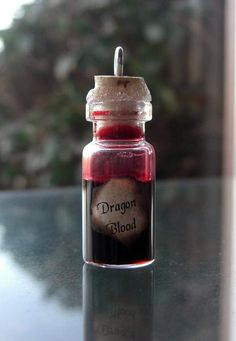 I found 'Vial of Dragon Blood - RARE Harry Potter Potions Ingredient and Ball Chain' on Wish, check it out! Harry Potter Diy, Harry Potter Fiesta, Harry Potter Thema, Harry Potter Cosplay, Harry Potter Birthday, Harry Potter Christmas Tree, Hogwarts Christmas, Bottle Charms, Bottle Necklace