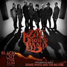 ENTER TO WIN ZAC BROWN BAND 'BLACK OUT THE SUN' TICKETS