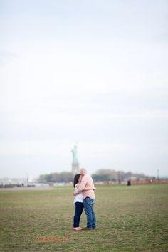 Sarah & Ken's Liberty State Park Engagement » Angela Gaspar Photography Blog